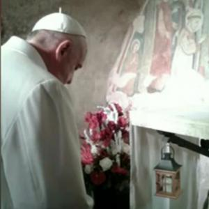 Il Papa a Greccio