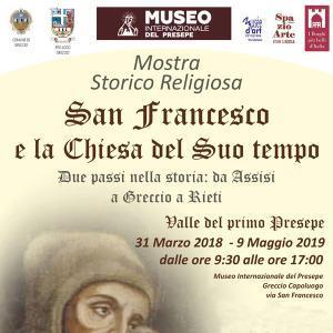 """Mostra storico religiosa """"San Francesco e la Chiesa del suo tempo"""""""